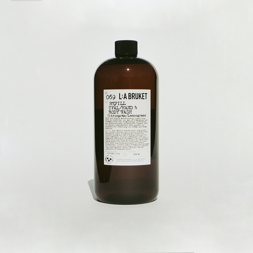 069 Hand & body wash Lemongrass Refill