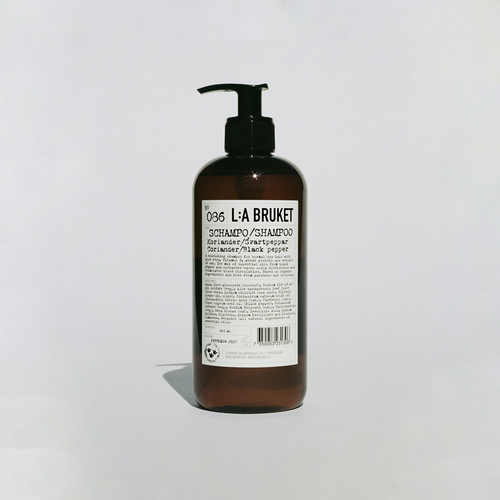 086 Shampoo Coriander/ Black Pepper